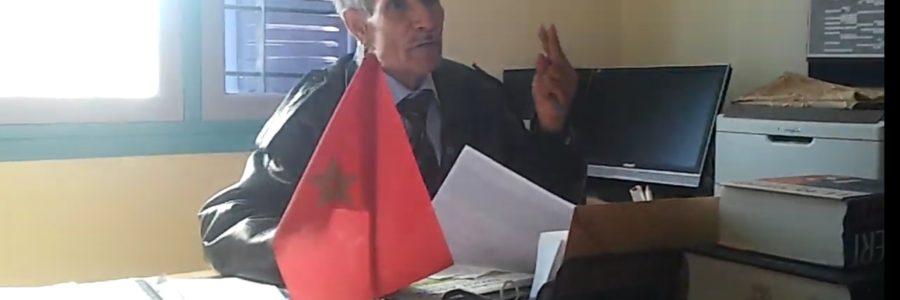 Intervention de M. Lahcen charouit lors d'une titularisation à Mellab